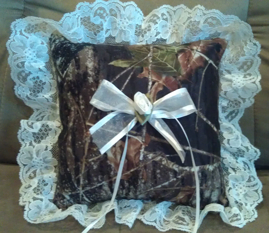 New Mossy Oak Break Up Ring Bearer With Lace The Formal