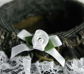 Wedding Garter: Mossy Oak® Break-Up Camo, Choice of Lace Color