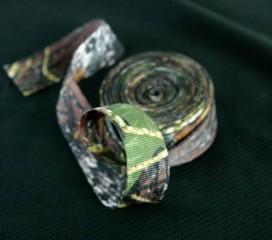 New Mossy Oak Break Up ® Camo Ribbon - 2 sided 3/4 , 1 or 1 1/2 in. Wedding Craft