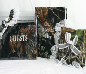 New Mossy Oak Break Up Wedding Set