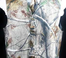 The Formal Sportsman Realtree AP ®  Camo Full Back Vest Formal and Wedding