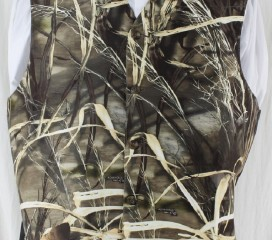 THe Formal Sportsman Realtree Max-4 ®  Camo Full Back Vest Wedding and Formal