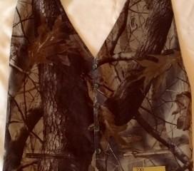 Realtree Hardwood ® Camo Reversible Backless Vest Wedding 2xl-4xl